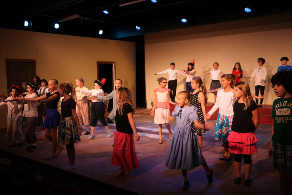 The cast of Jump 'N Jive Juliet, on stage July 8-10 at Limelight Theatre. Photos by Renee Unsworth
