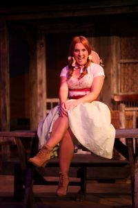 Jessica Alexander plays Ado Annie in Limelight Theatre's Oklahoma!