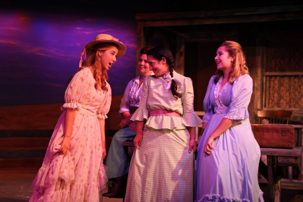 Cast members of Oklahoma! shown during dress rehearsals at Limelight Theatre. The show runs Sept. 21-Oct. 23. See details and the cast list below. Photos by Renee Unsworth