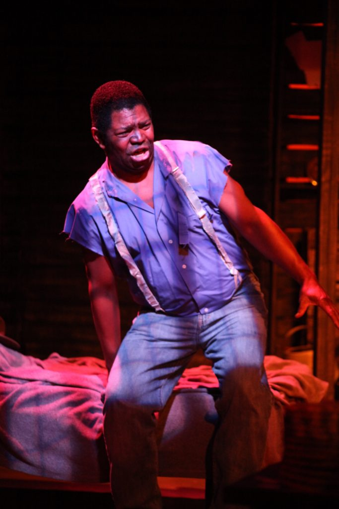 Patric Robinson as Jud Fry in Limelight Theatre's Oklahoma!