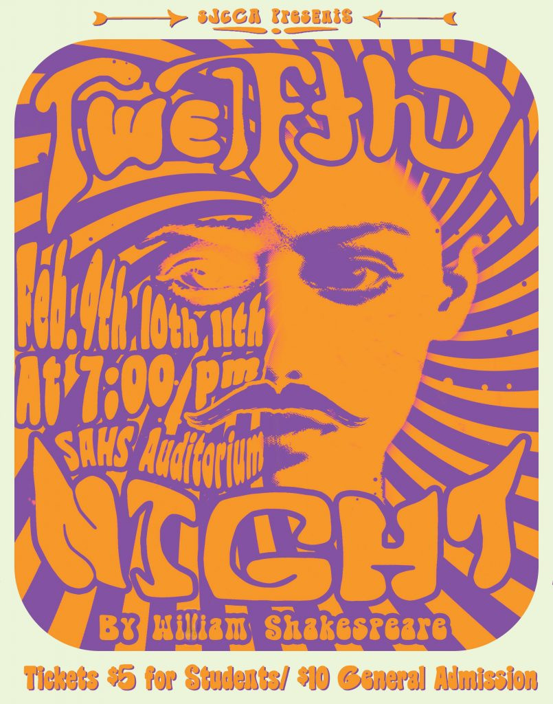 Feb. 9-11: Twelfth Night by Shakespeare at St. Augustine High School