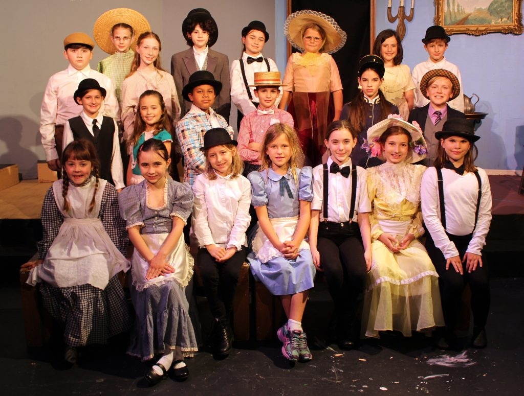 Feb. 24-26: The Music Man Kids features 20 students at Limelight Theatre