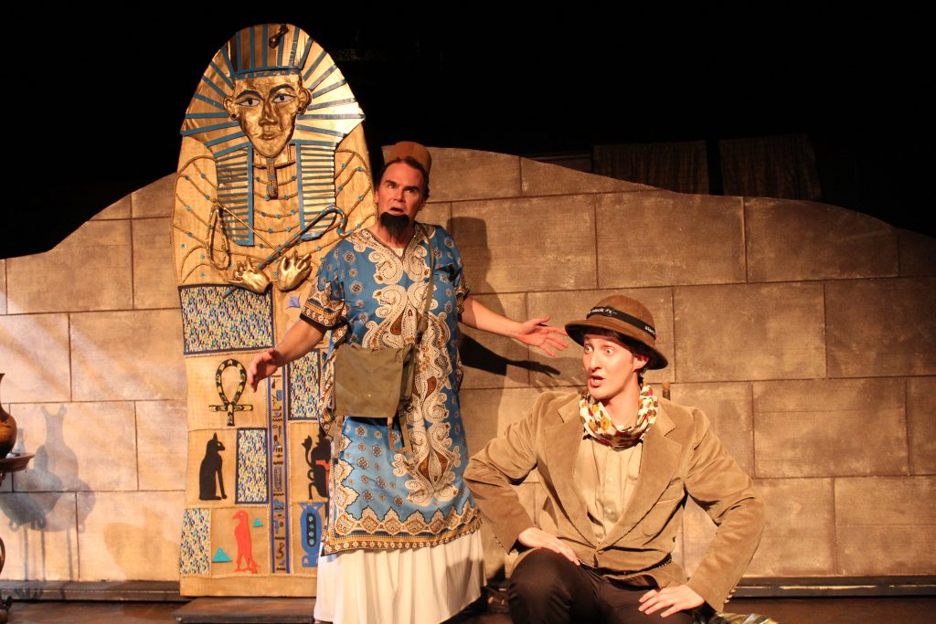 March 9-April 2: The Mystery of Irma Vep at Limelight Theatre