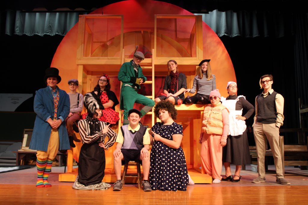 March 28: More than 200 on stage in James and the Giant Peach Jr.