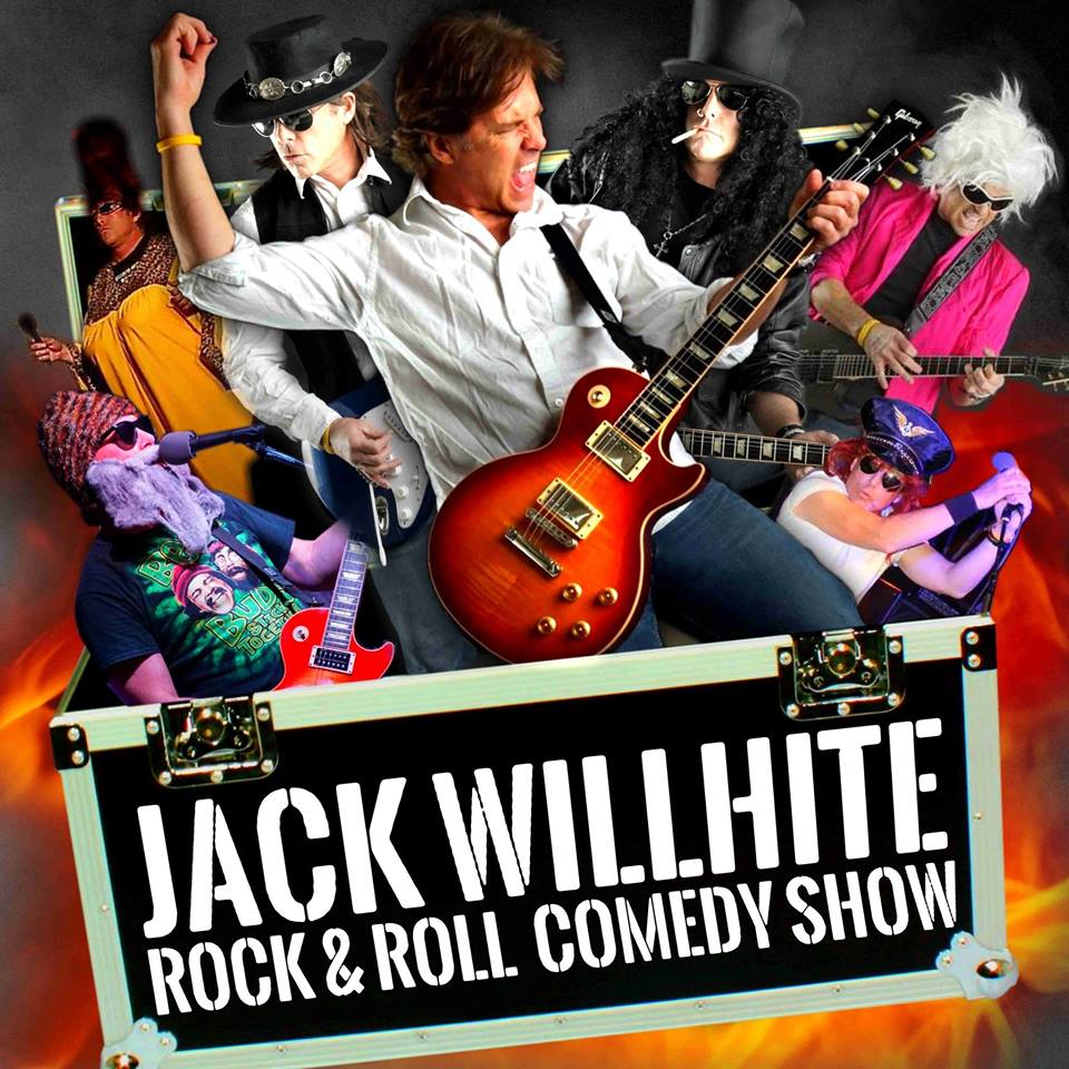 May 27: Jack Willhite's Rock & Roll Comedy Show in St. Augustine