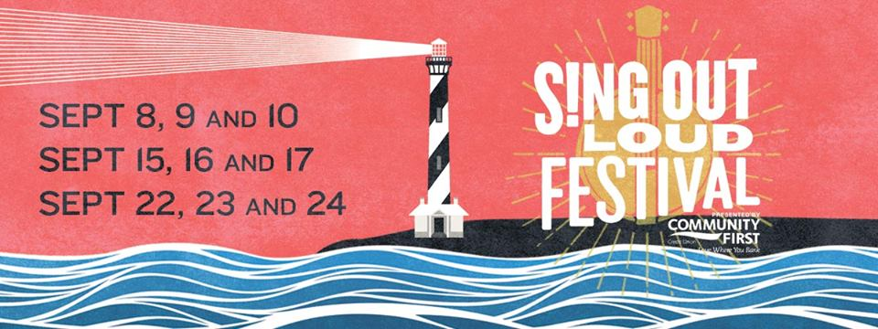 Sing Out Loud Festival Schedule: FREE concerts / 200 artists / 15 venues