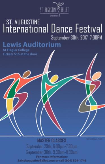 Sept. 29-30: International Dance Festivalat Flagler College