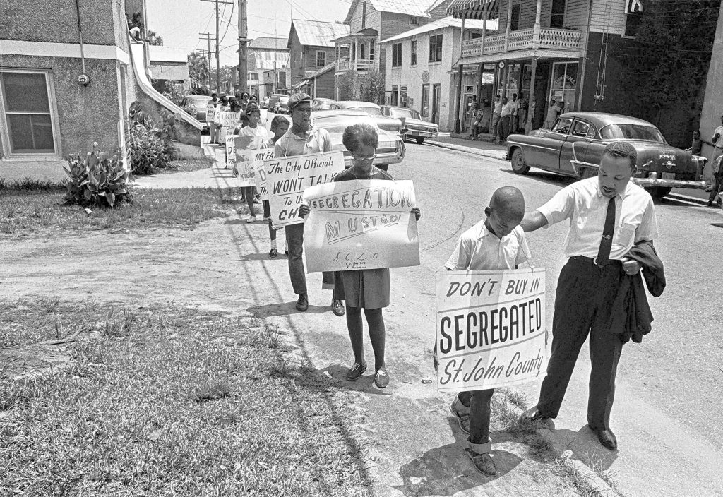 PHOTOS: Martin Luther King, Jr. in St. Augustine, 1964