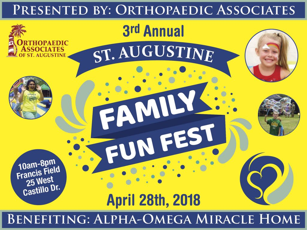 April 28: St. Augustine Family Fun Fest