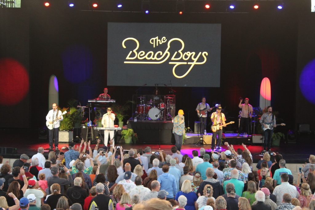 The Beach Boys returned to the St. Augustine Amphitheatre
