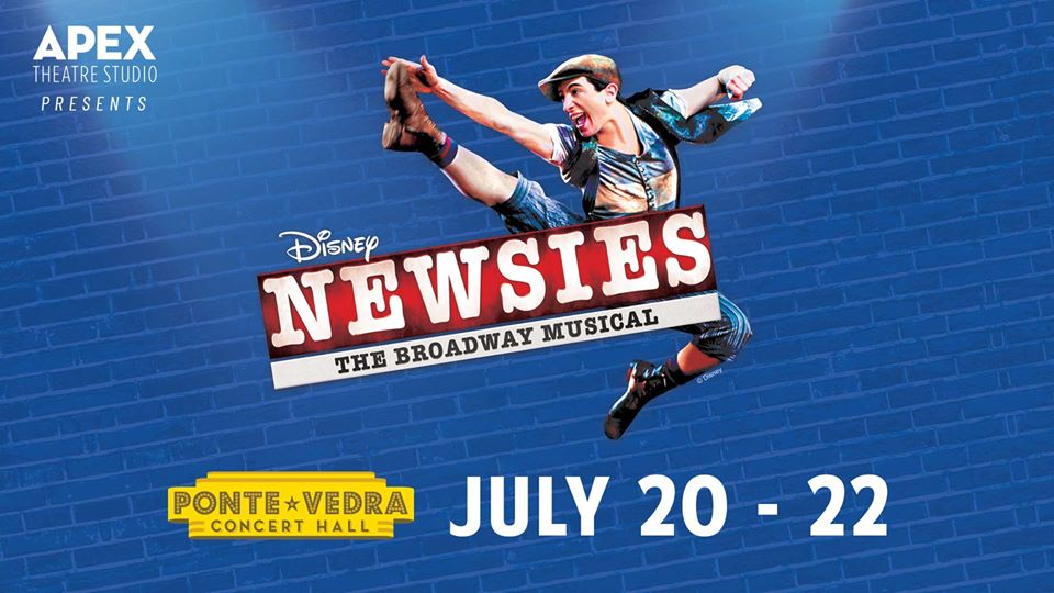 July 20-22: Apex Theatre Studio Presents Disney Musical 'Newsies'