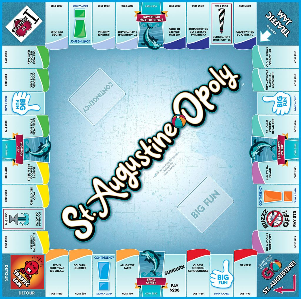St. Augustine-opoly board game released