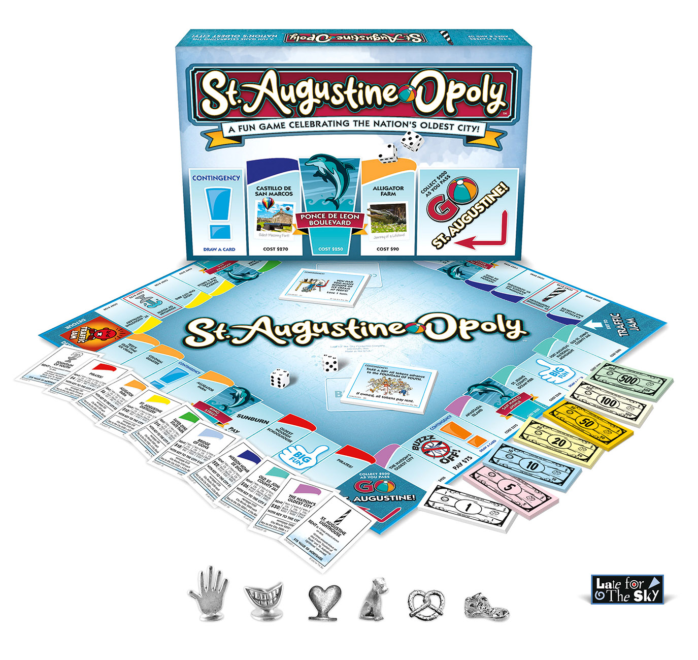St Augustine Opoly Board Game Released Totally St Augustine