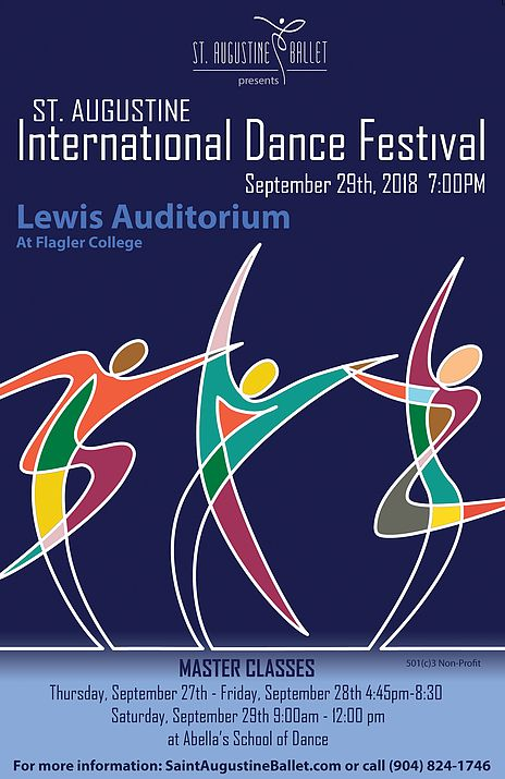 Sept. 27-29: Saint Augustine Ballet presents the International Dance Festival