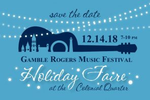 Dec. 14: Gamble Rogers Holiday Faire at Colonial Oak Music Park