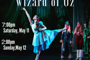 May 11-12: The Wizard of Oz by St. Augustine Ballet
