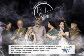 Oct. 25-Nov. 3: Paranormal Comedy Classic Blithe Spirit on stage!