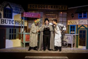 On stage thru Dec. 22 at Limelight Theatre: Every Christmas Story Ever Told & Then Some!