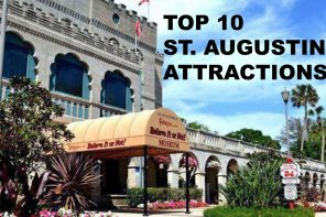 Top 10 St. Augustine Attractions to visit on Memorial Day Weekend 2020