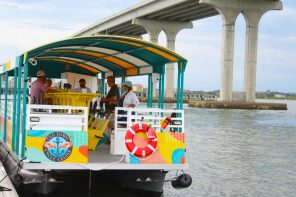 Old Town Cycle Cruise offers fun on the water and amazing St. Augustine views