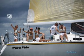 St. Augustine Sailing Sisters celebrate 5 Years with Bikini Race on Aug. 1