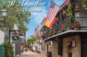 St. Augustine photographer features  2021 calendar of beautiful Oldest City scenes