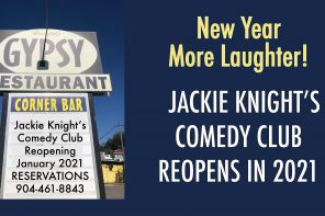 Jackie Knight's Comedy Club reopens January 2021 in St. Augustine