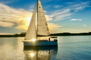 Spring 2021: St. Augustine Sailing events — Land & Sea, Tuxedo Tuesday, Thirsty Thursday