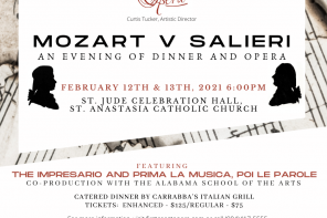 Feb. 12-13: Mozart v. Salieri by First Coast Opera (dinner and a show!)