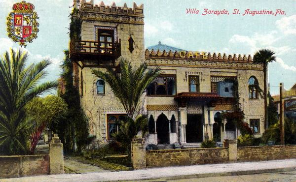 1 Villa Zorayda postcard