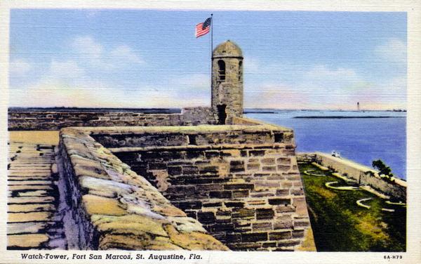 1 fort postcard