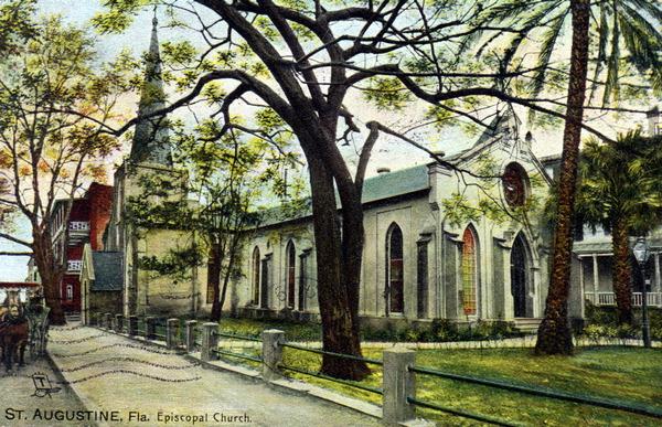 episcopal postcard