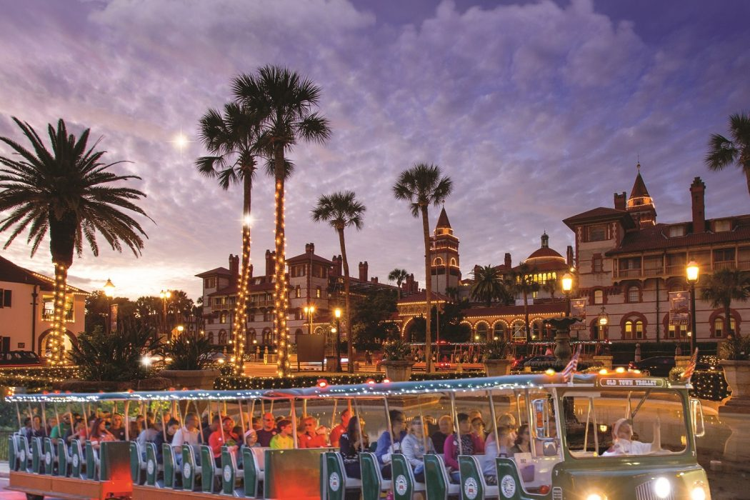 St Augustine Christmas Lights Tour 2021 Nov 14 2020 Jan 31 2021 Old Town Trolley Announces Nights Of Lights Tours Totally St Augustine
