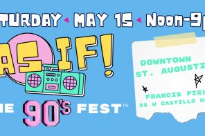 May 15, 2021: AS IF! The 90s Fest will feature Eve 6 at Francis Field in St. Augustine