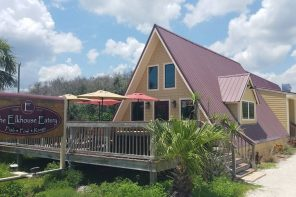 The Elkhouse Eatery in Crescent Beach // Food Culture in St. Augustine