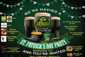2021 St. Patrick's Day Celebrations in St. Augustine