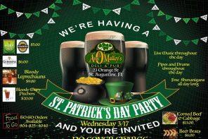 2021 St. Patrick's Day Celebrations in St. Augustine