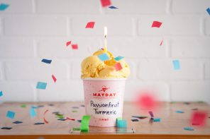 Mayday Ice Cream releases new flavor on May 21 for Third Birthday!